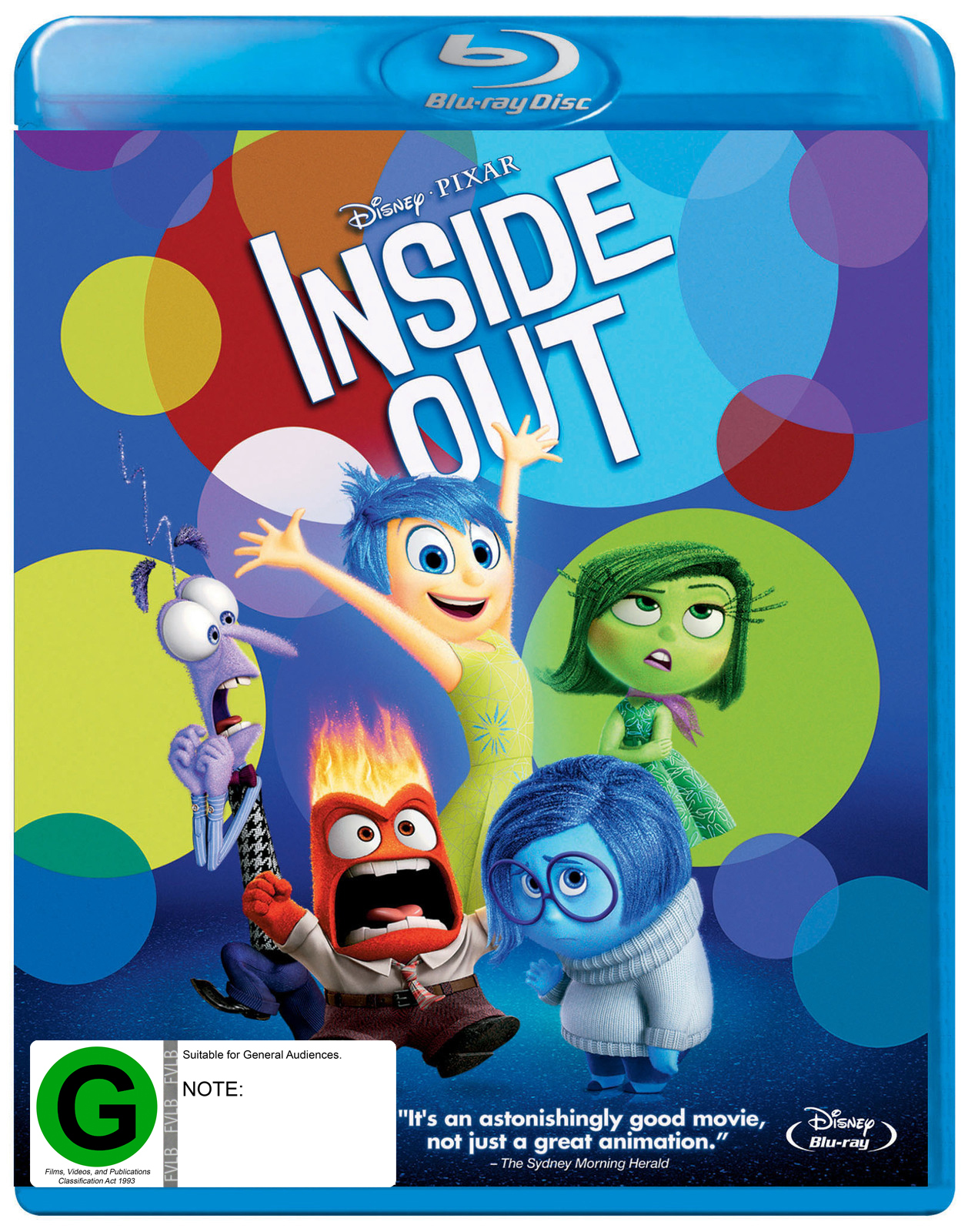Inside Out on Blu-ray image