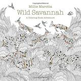 Millie Marotta's Wild Savannah (Postcard Book) by Millie Marotta