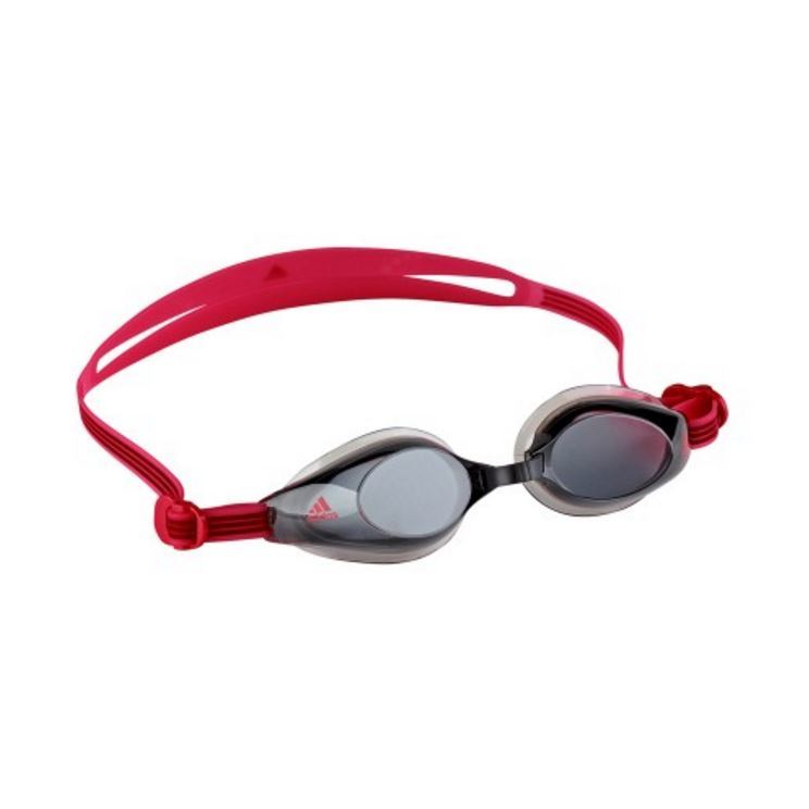 Adidas Aquastorm Goggles - Smoke Lens (Red) image