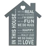 In This House... Shelf Plaque