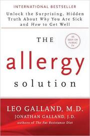 The Allergy Solution by Leo Galland