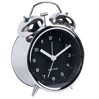 Karlsson Alarm Clock - Classic Bell (Chrome)