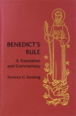 Benedict's Rule by Terrance G. Kardong image