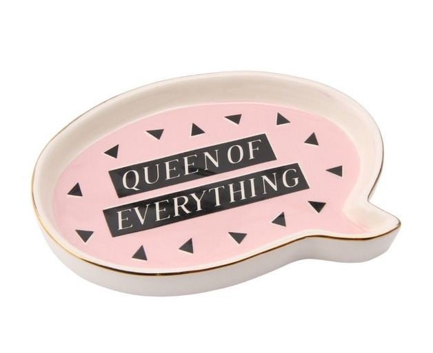 Trinket Dish - Queen of Everything