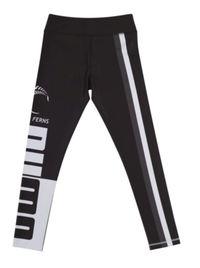 Puma Silver Ferns Youth Training Tights Black/White (152)