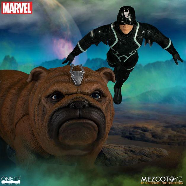 Marvel: Black Bolt & Lockjaw - One:12 Collective Figure Set