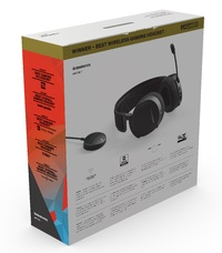 SteelSeries Arctis 7 Wireless Gaming Headset (Black) for PC, PS4