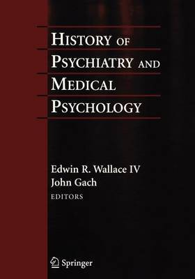 History of Psychiatry and Medical Psychology image