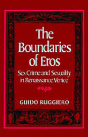 The Boundaries of Eros by Guido Ruggiero image