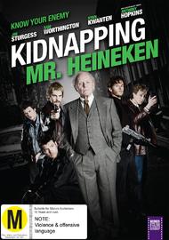 Kidnapping Mr Heineken on DVD