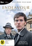 Endeavour - The Complete Season 1 & 2 Collection DVD