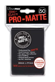 Ultra Pro: Pro-Matte Deck Protector Sleeves - Black