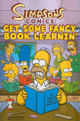 Simpsons Comics Get Some Fancy Book Learnin' by Matt Groening image