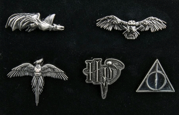 Harry Potter: Logos & Creatures - Boxed Lapel Pin Set