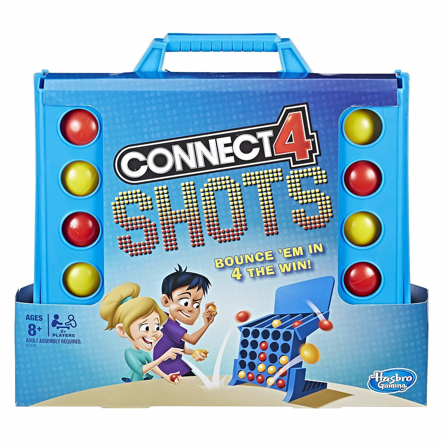 Connect 4 Shots - Bouncing Board Game image