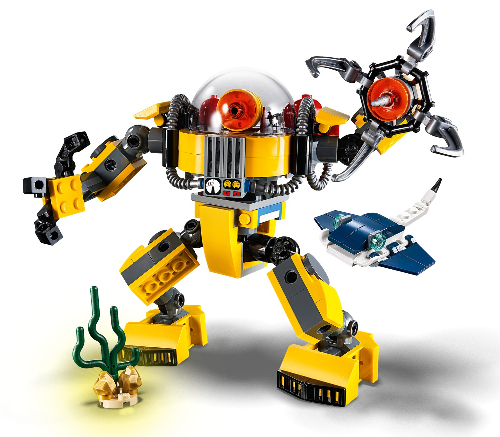 Lego Creator Underwater Robot Toy At Mighty Ape Nz