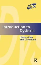 Introduction to Dyslexia by Lindsay Peer