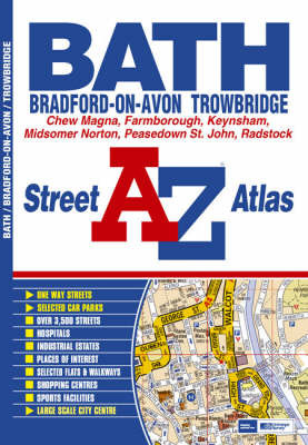 Bath A-Z by Geographers A-Z Map Company image