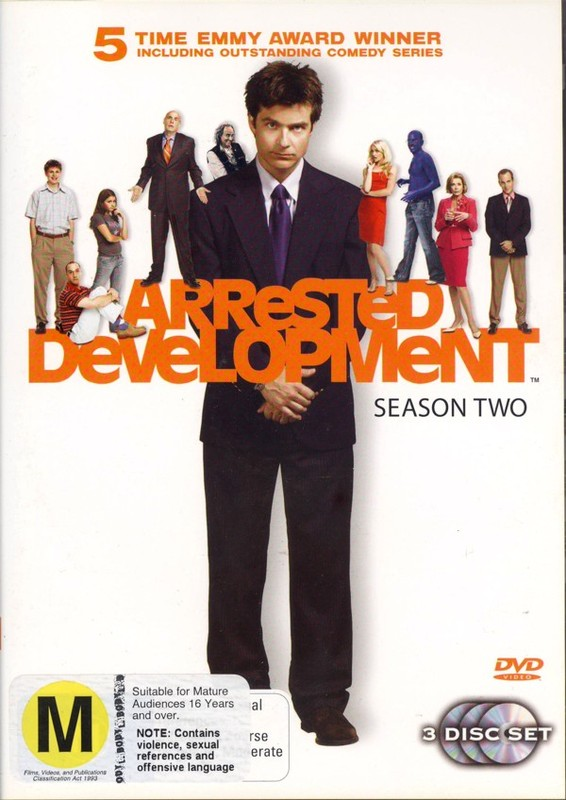 Arrested Development - Season 2 (3 Disc Set) on DVD