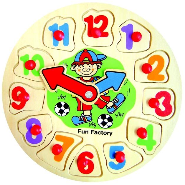 Fun Factory - Boy Clock Puzzle