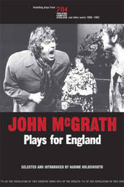 John Mcgrath - Plays For England by John McGrath image