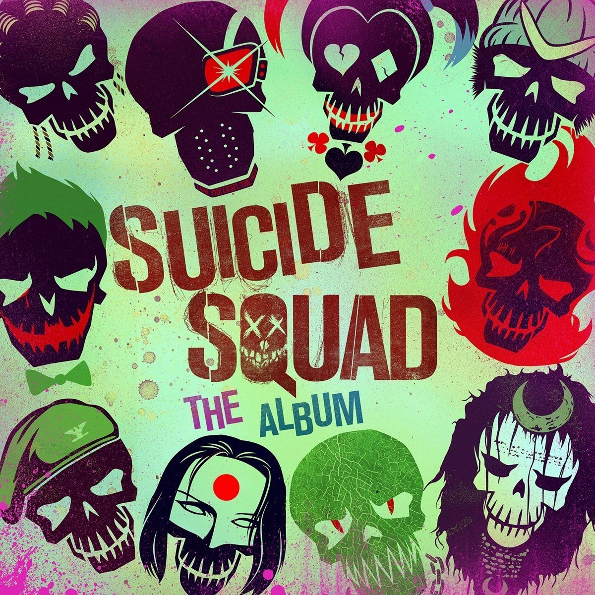 Suicide Squad: The Album by Various Artists image