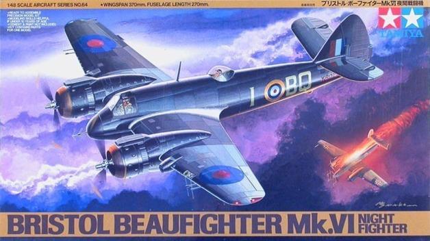 Tamiya: 1/48 Bristol Beaufighter Mk VI NF - Model Kit