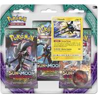 Pokemon TCG Sun & Moon Guardians Rising 3 Pack Blister: Vikavolt