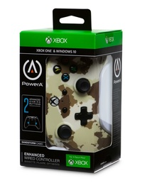 Xbox One Enhanced Wired Controller - Sandstorm Camo for Xbox One