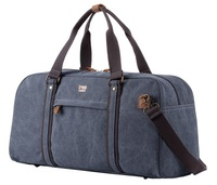 Troop London: Explorer Holdall - Blue w/Black Trim