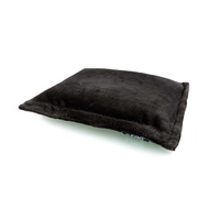 Beanz: Plush Cat or Dog Bed Filled - Black