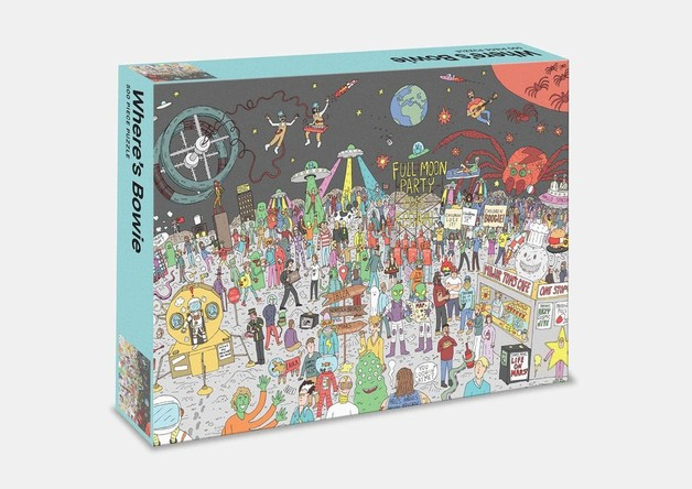 Where's Bowie? Bowie In Space: 500 Piece Jigsaw Puzzle