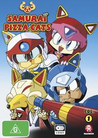 Samurai Pizza Cats - Col. 1 on DVD