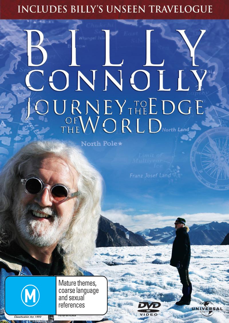 Billy Connolly - Journey to the Edge of the World (2 Disc Set) on DVD image