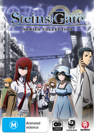 Steins;Gate - Series Collection on DVD