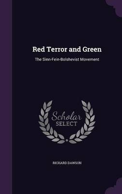 Red Terror and Green by Richard Dawson image