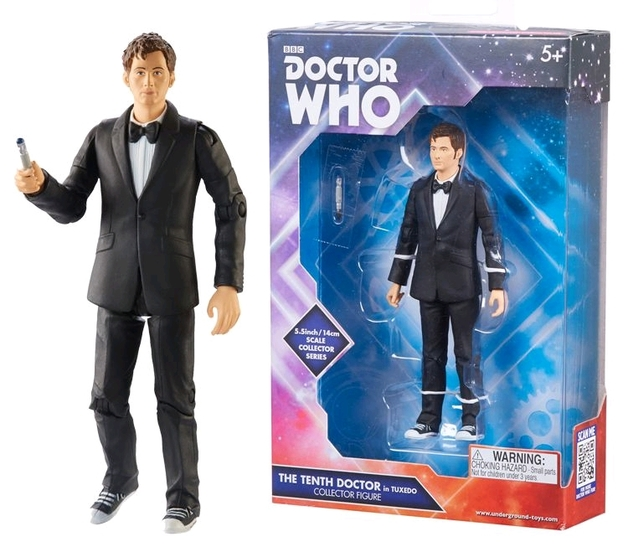 Doctor Who - Tenth Doctor (Tuxedo) Action Figure