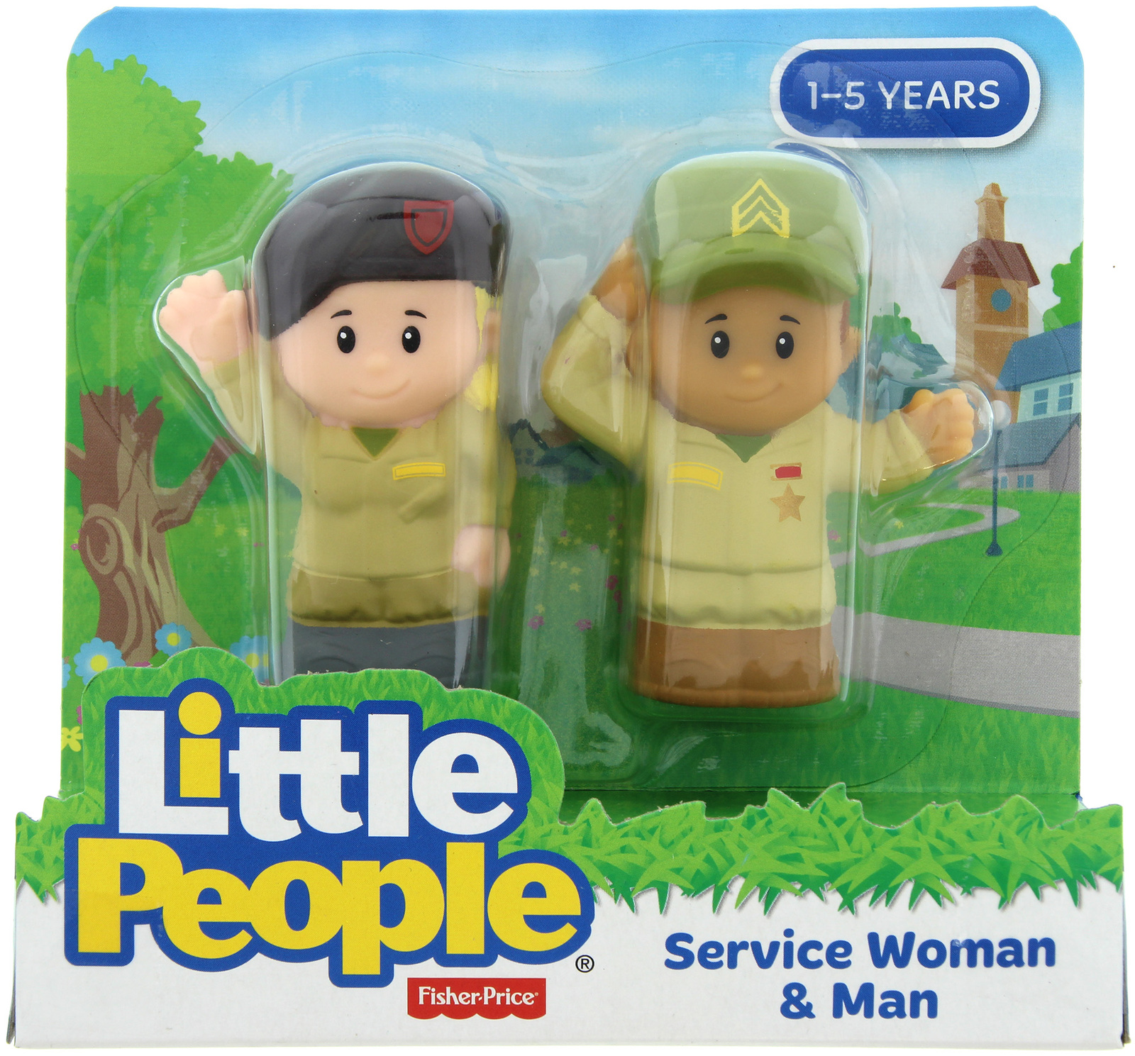 Fisher-Price: Little People - Service Woman & Man image
