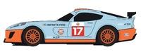 Scalextric: GT Lightning: Team GT Gulf - Slot Car