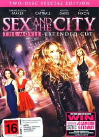 Sex and the City: The Movie - Special Edition (2 Disc Set) on DVD