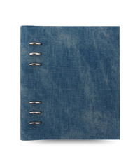 Filofax - A5 Patterns Clipbook - Denim