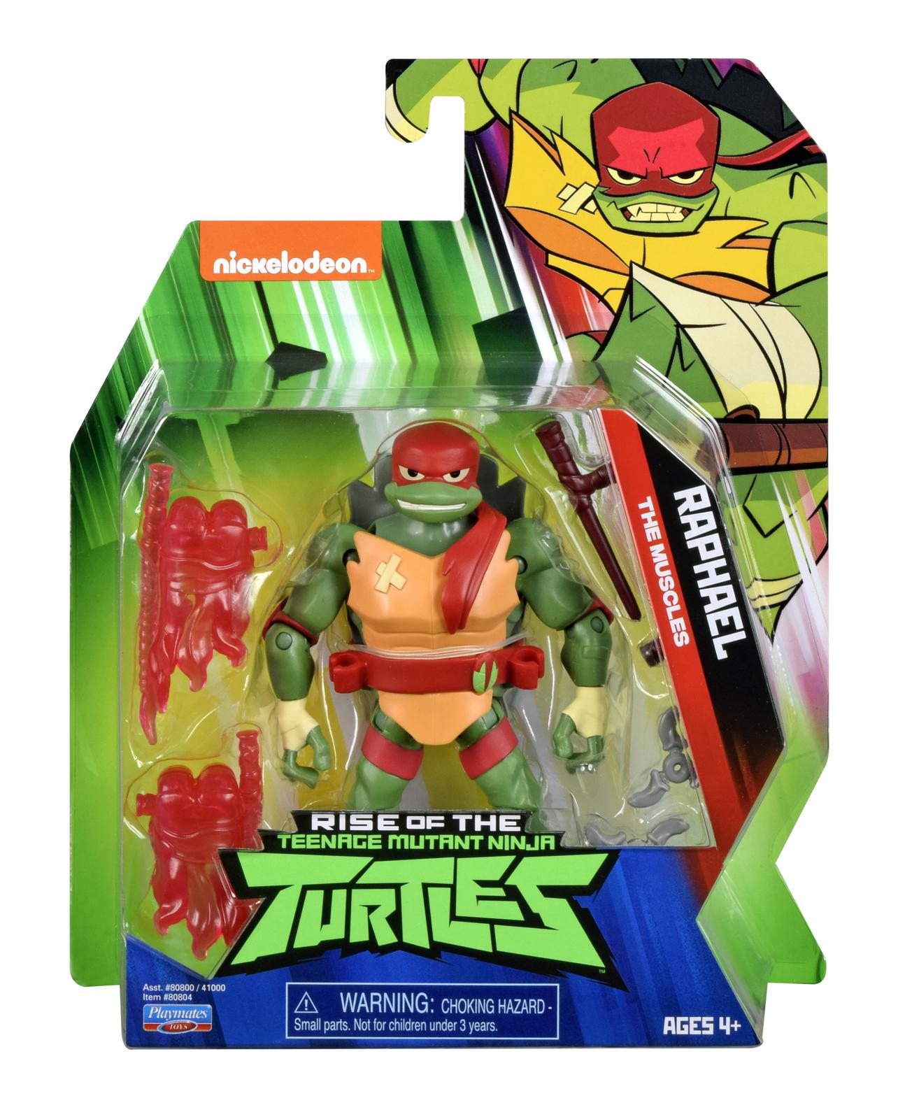 TMNT: Basic Action Figure - Raphael image