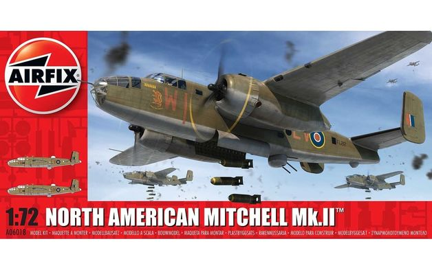 Airfix 1:72 North American Mitchell Mk.II 1:72 Model Kit