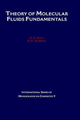 Theory of Molecular Fluids by C.G. Gray image