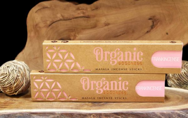 Organic Masala Incense Sticks Frankincense