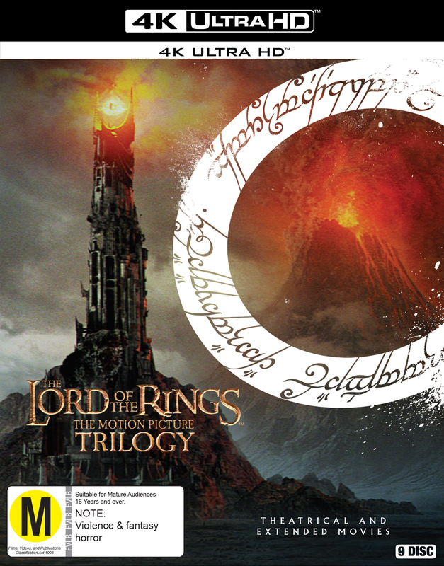 The Lord of the Rings Trilogy (Theatrical + Extended) (4K UHD) on UHD Blu-ray
