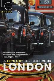 Let's Go London 2003 by Let's Go Inc image
