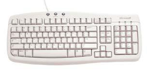 Microsoft Basic Keyboard PS2 OEM 3pk Q95-00044