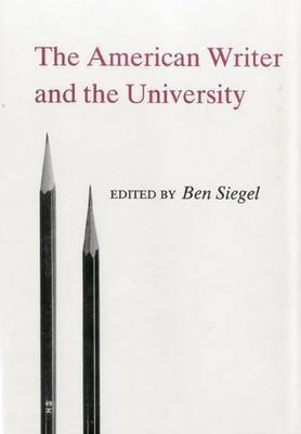 American Writer And The University by Ben Siegel