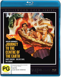 Journey to the Centre of the Earth on Blu-ray